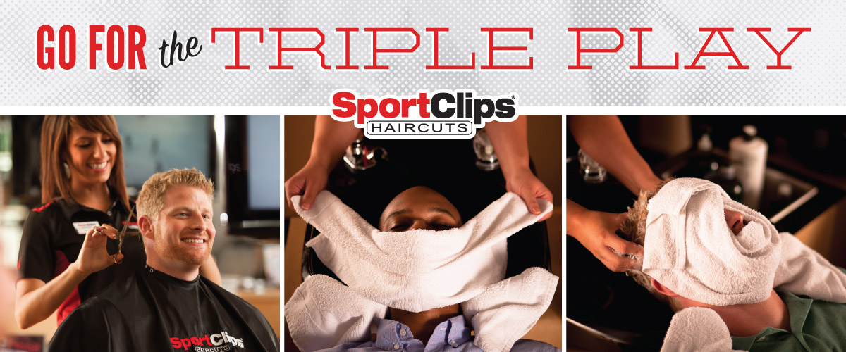 The Sport Clips Haircuts of Town & Country Triple Play